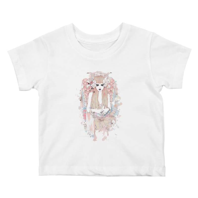 Shackled Kids Baby T-Shirt by Wicked Oddities