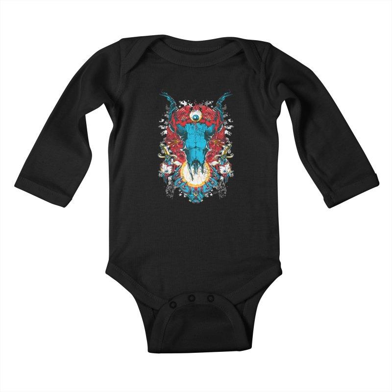 Eyes Upon You Kids Baby Longsleeve Bodysuit by Wicked Oddities