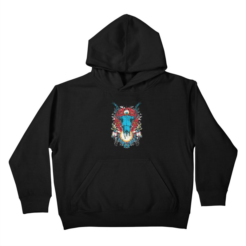 Eyes Upon You Kids Pullover Hoody by Wicked Oddities