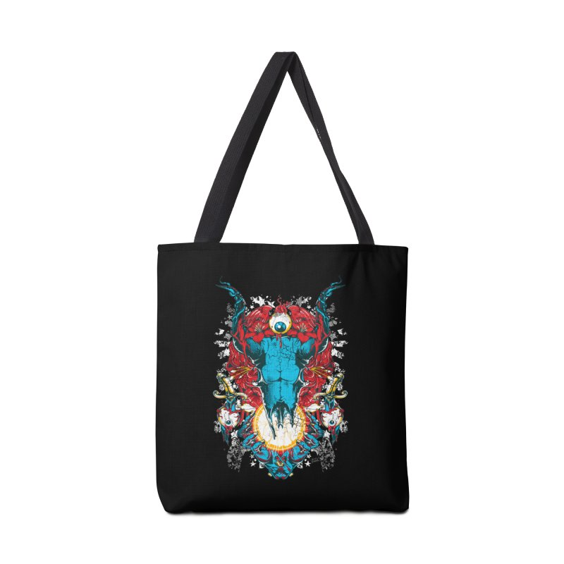 Eyes Upon You Accessories Tote Bag Bag by Wicked Oddities