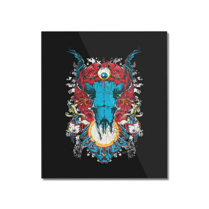 Eyes Upon You Home Mounted Acrylic Print by Wicked Oddities