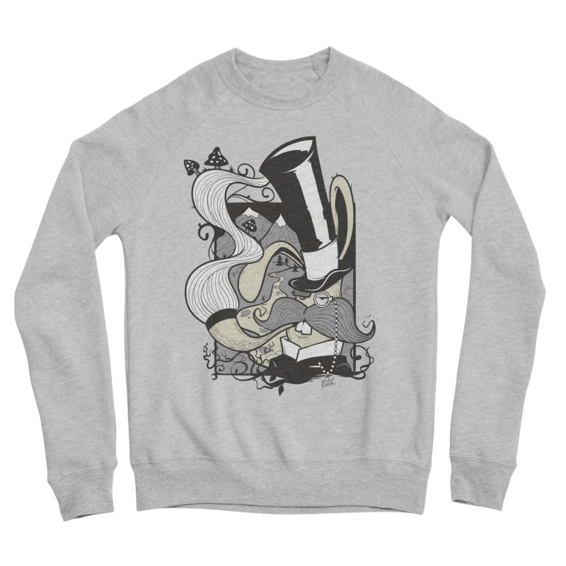 Gentleman Rabbit Women's Sponge Fleece Sweatshirt by Wicked Oddities