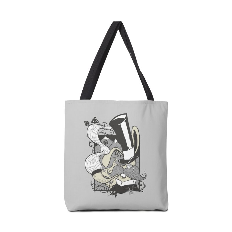 Gentleman Rabbit Accessories Tote Bag Bag by Wicked Oddities