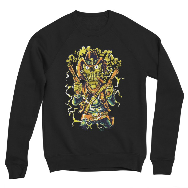 Western Horror Men's Sponge Fleece Sweatshirt by Wicked Oddities