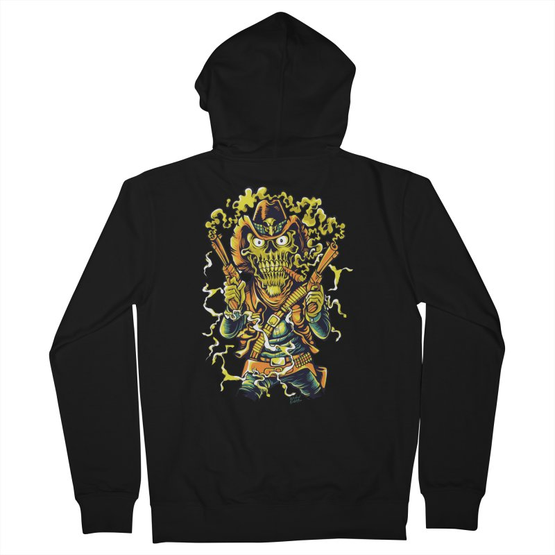 Western Horror Women's Zip-Up Hoody by Wicked Oddities