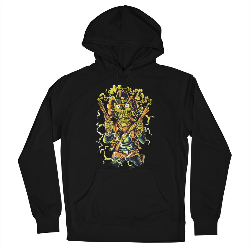 Western Horror Women's French Terry Pullover Hoody by Wicked Oddities