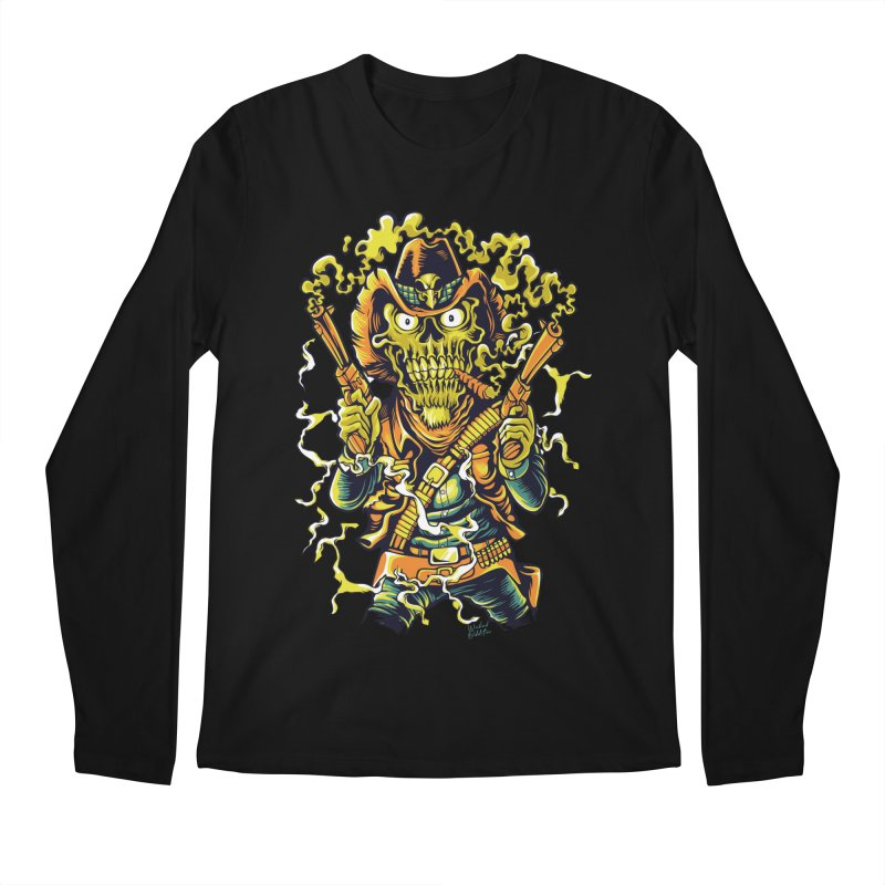 Western Horror Men's Longsleeve T-Shirt by Wicked Oddities