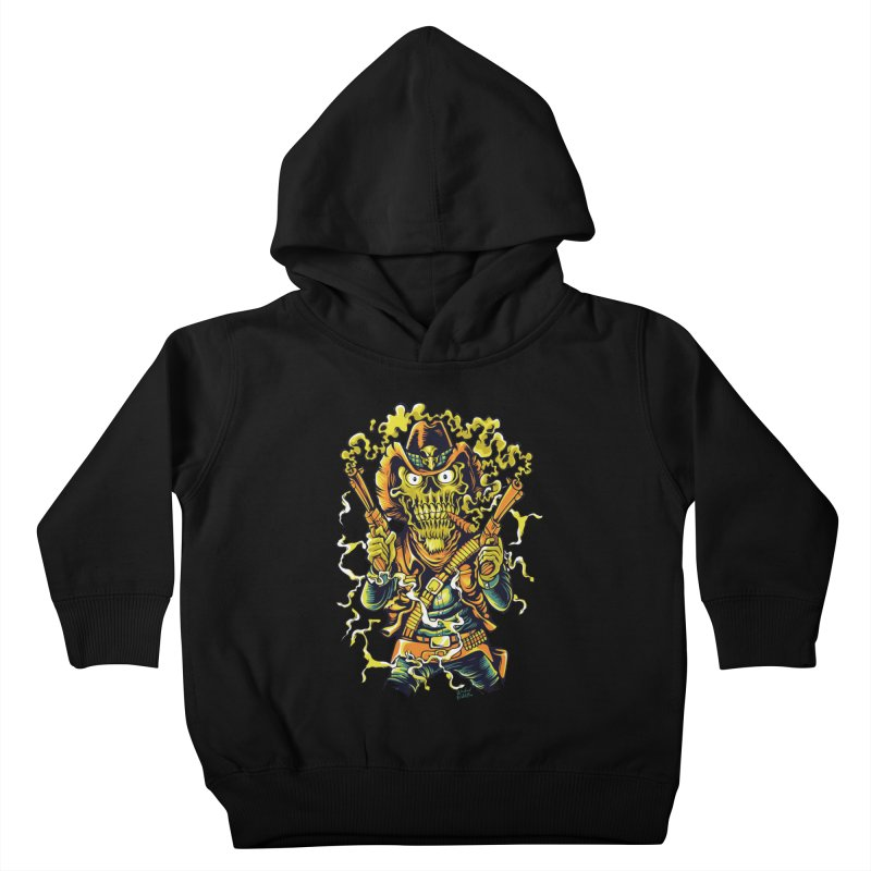Western Horror Kids Toddler Pullover Hoody by Wicked Oddities
