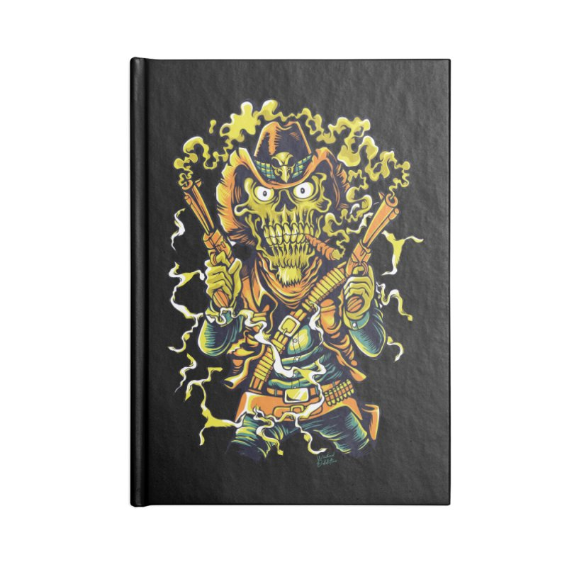 Western Horror Accessories Blank Journal Notebook by Wicked Oddities