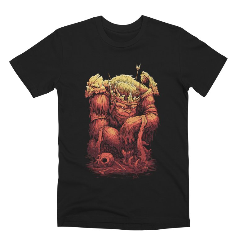 Monster King Men's Premium T-Shirt by Wicked Oddities