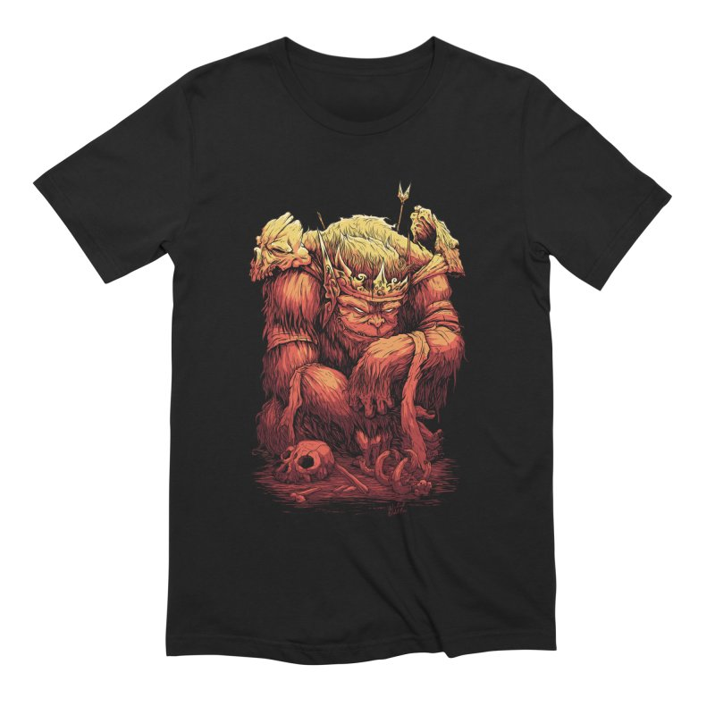 Monster King Men's Extra Soft T-Shirt by Wicked Oddities