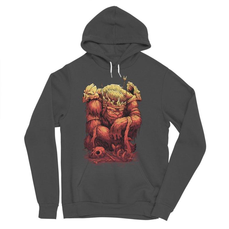 Monster King Men's Sponge Fleece Pullover Hoody by Wicked Oddities