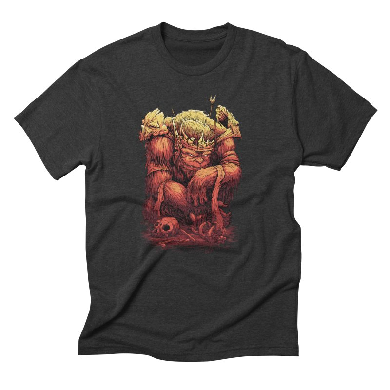 Monster King Men's T-Shirt by Wicked Oddities