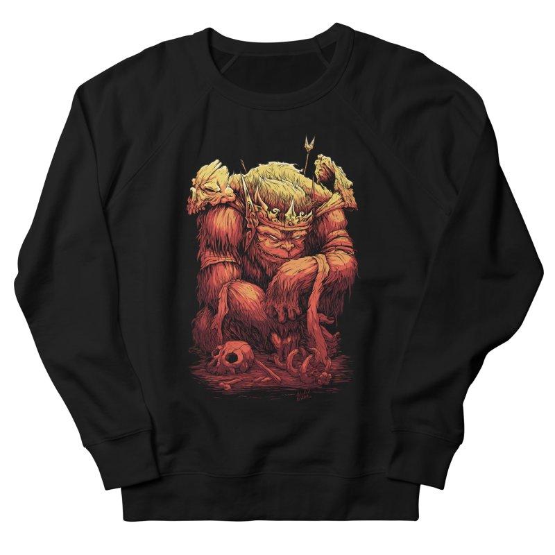 Monster King Women's Sweatshirt by Wicked Oddities