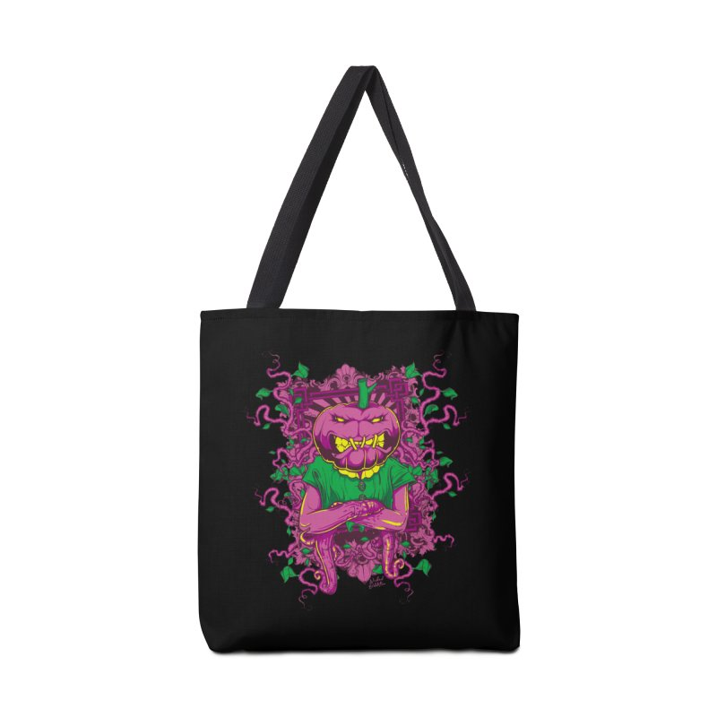 Pumpkin Terror Accessories Tote Bag Bag by Wicked Oddities