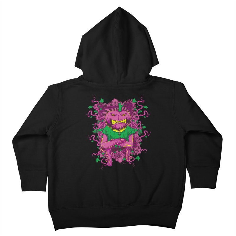 Pumpkin Terror Kids Toddler Zip-Up Hoody by Wicked Oddities