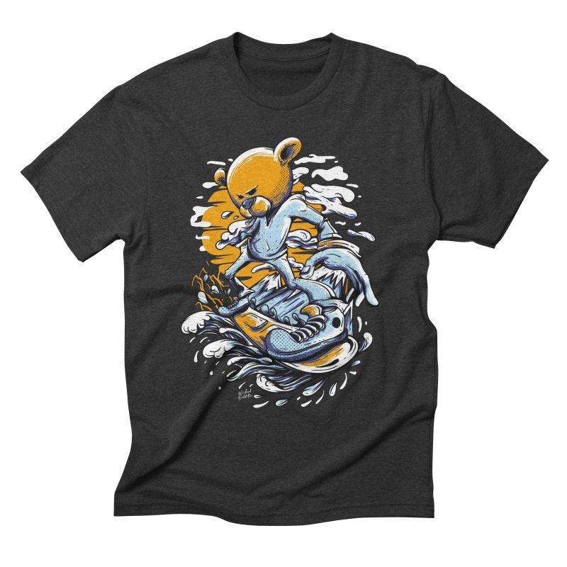 Snow Bear Men's T-Shirt by Wicked Oddities