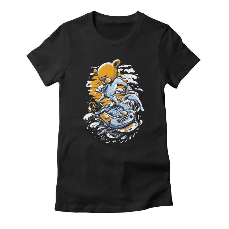 Snow Bear Women's T-Shirt by Wicked Oddities