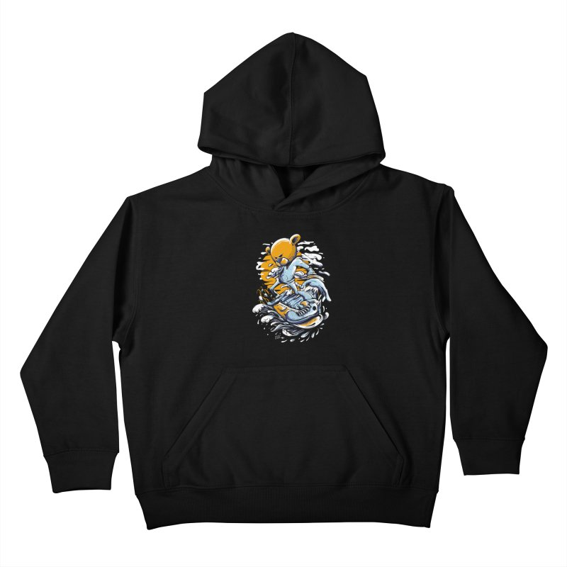Snow Bear Kids Pullover Hoody by Wicked Oddities