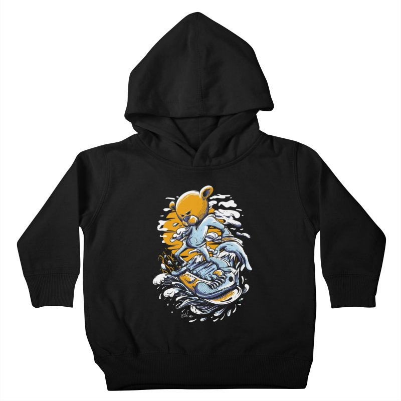Snow Bear Kids Toddler Pullover Hoody by Wicked Oddities