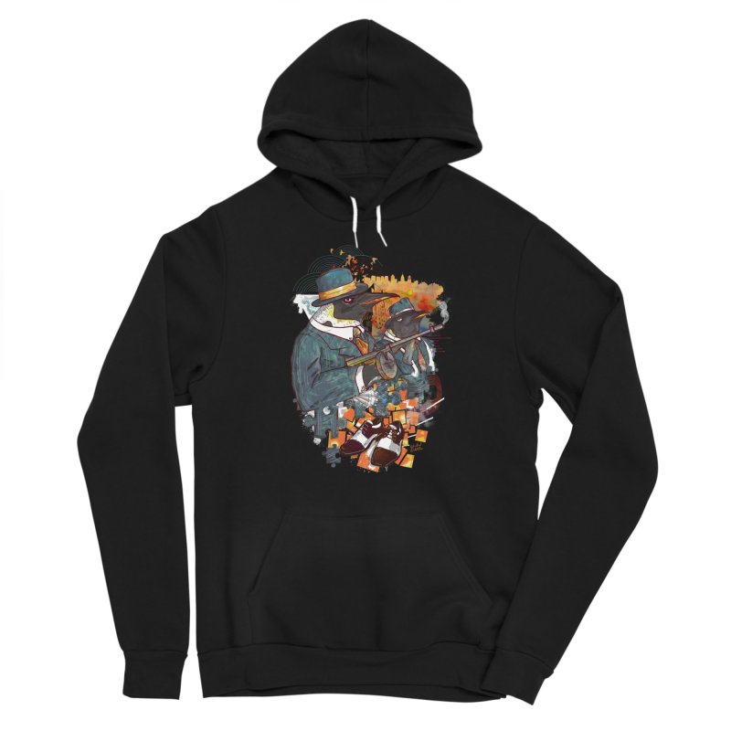Mobsters Women's Pullover Hoody by Wicked Oddities