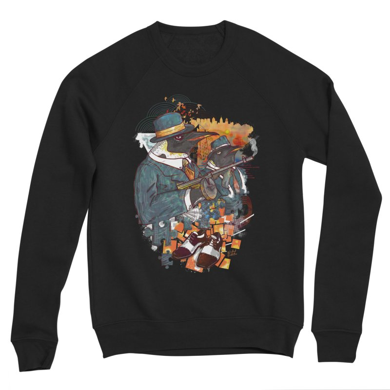 Mobsters Men's Sponge Fleece Sweatshirt by Wicked Oddities