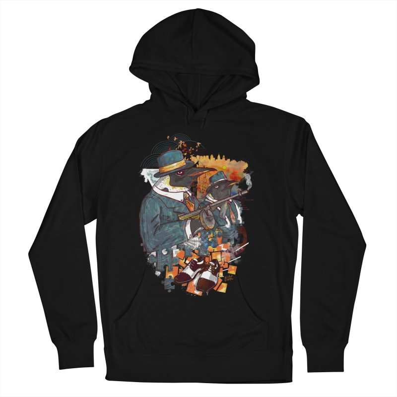 Mobsters Men's French Terry Pullover Hoody by Wicked Oddities