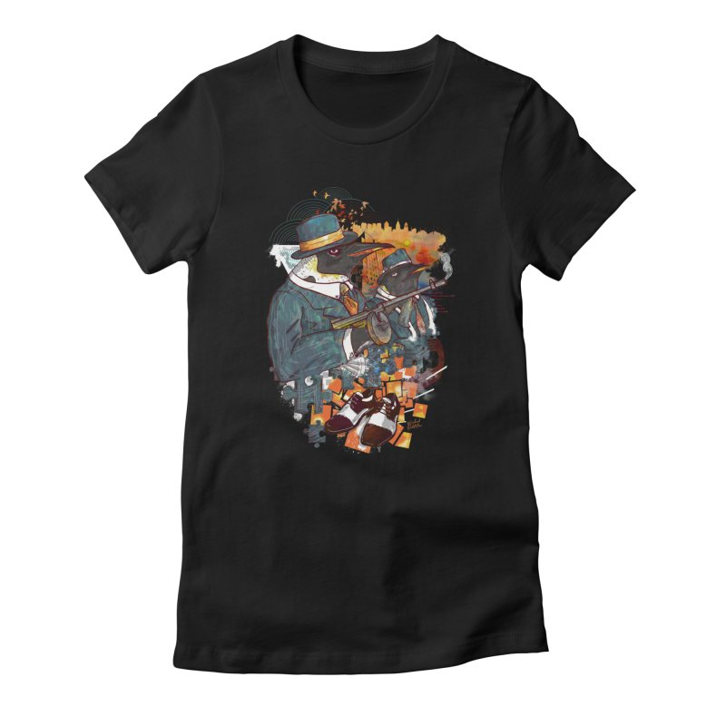 Mobsters Women's T-Shirt by Wicked Oddities