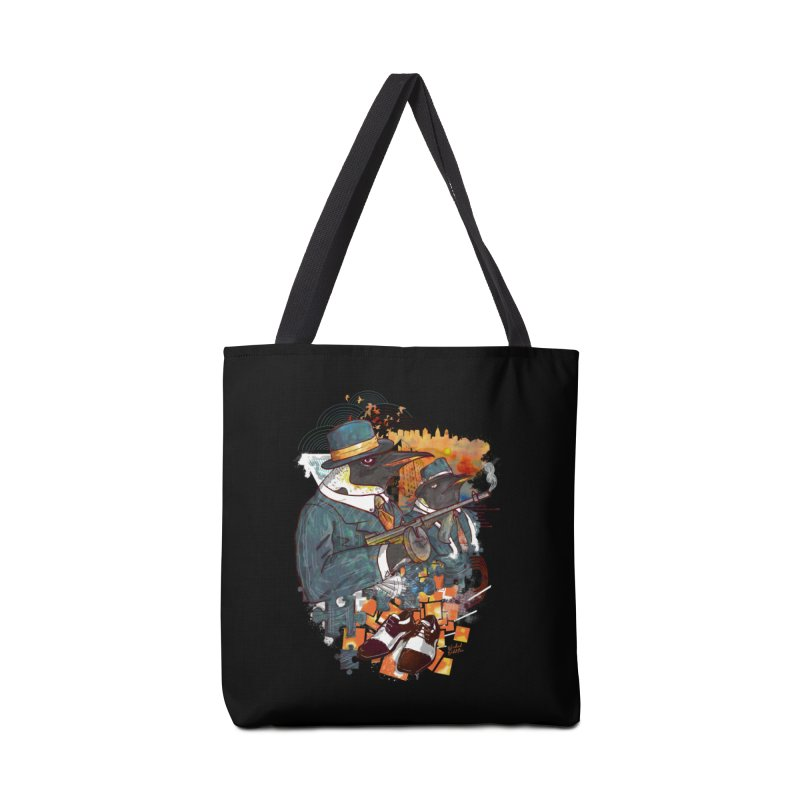 Mobsters Accessories Tote Bag Bag by Wicked Oddities