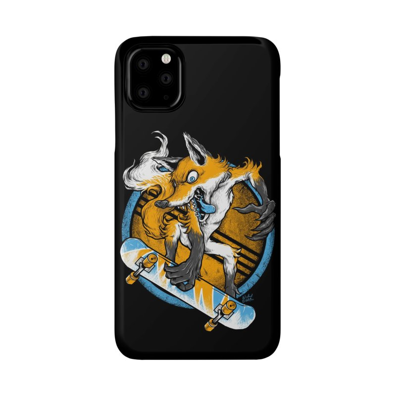 Foxy Skater Accessories Phone Case by Wicked Oddities