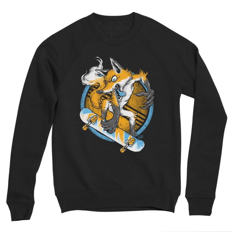 Foxy Skater Men's Sweatshirt by Wicked Oddities