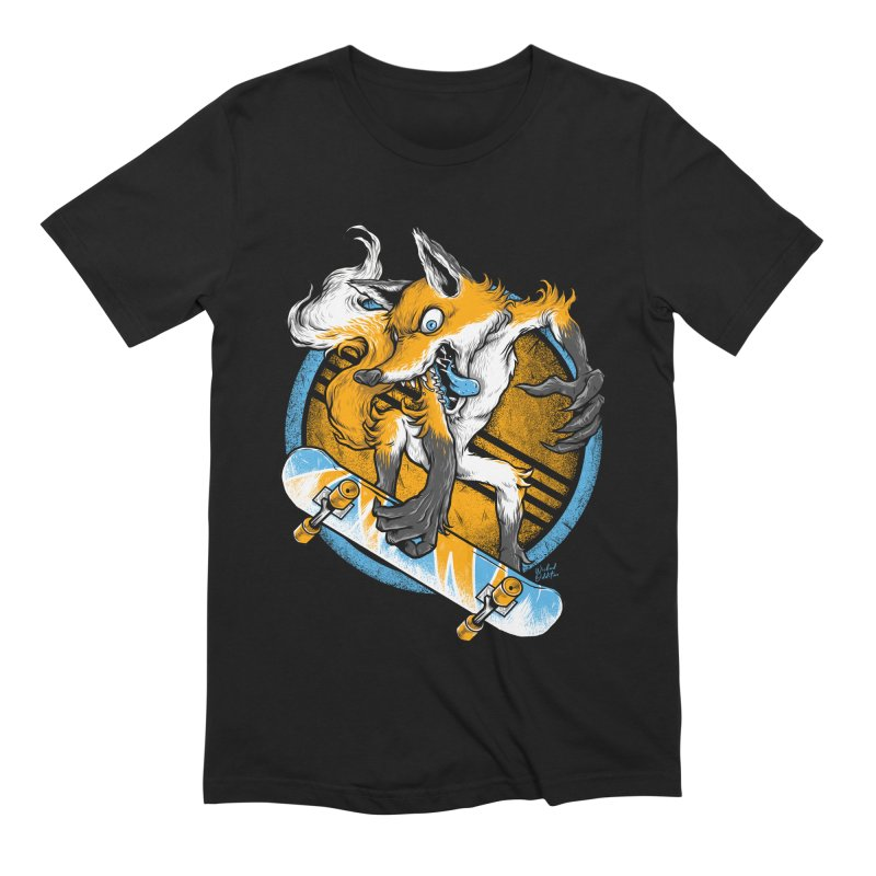 Foxy Skater Men's Extra Soft T-Shirt by Wicked Oddities