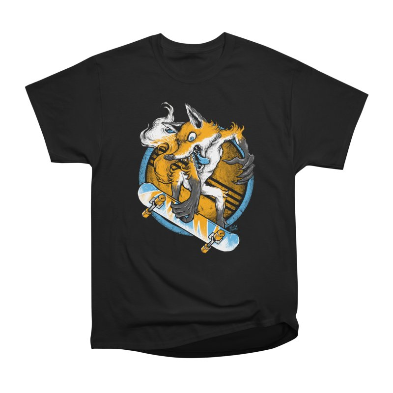 Foxy Skater Men's T-Shirt by Wicked Oddities