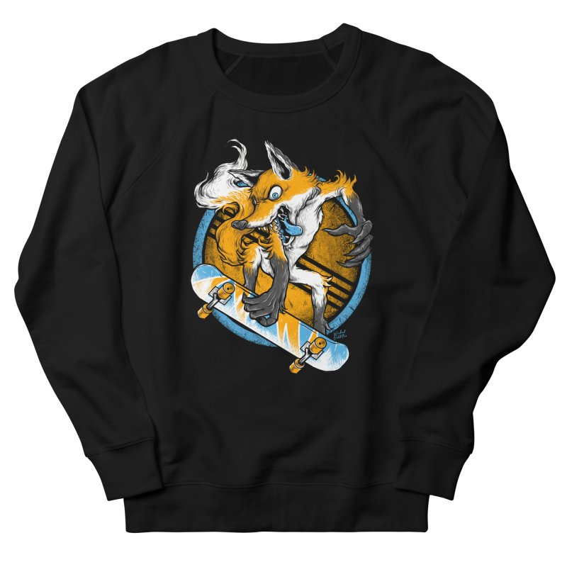 Foxy Skater Women's Sweatshirt by Wicked Oddities