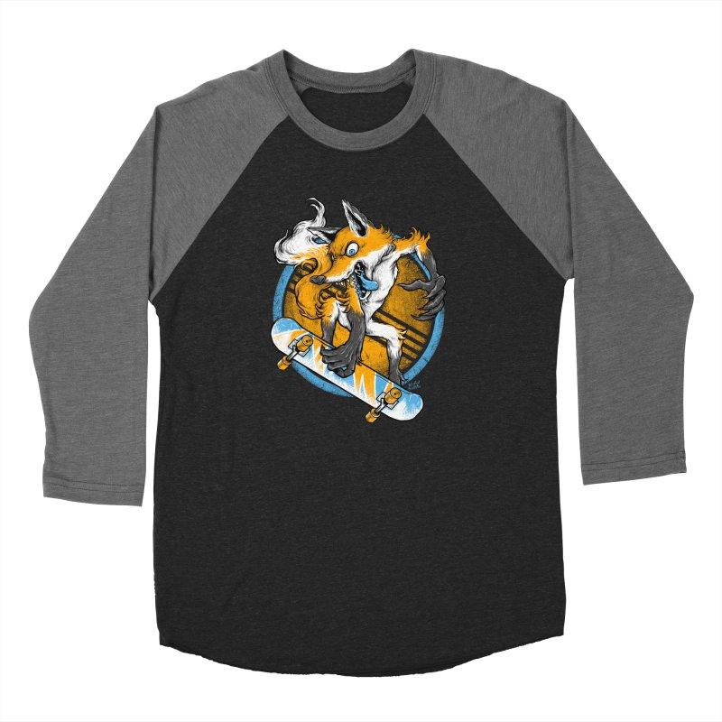 Foxy Skater Women's Longsleeve T-Shirt by Wicked Oddities