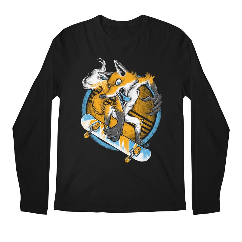 Foxy Skater Men's Longsleeve T-Shirt by Wicked Oddities