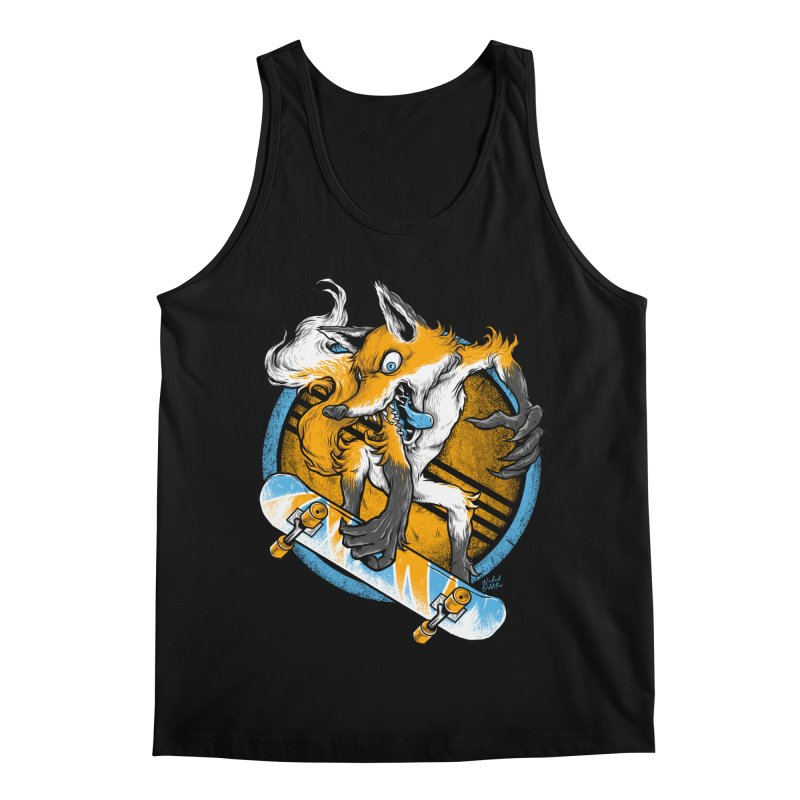Foxy Skater Men's Regular Tank by Wicked Oddities