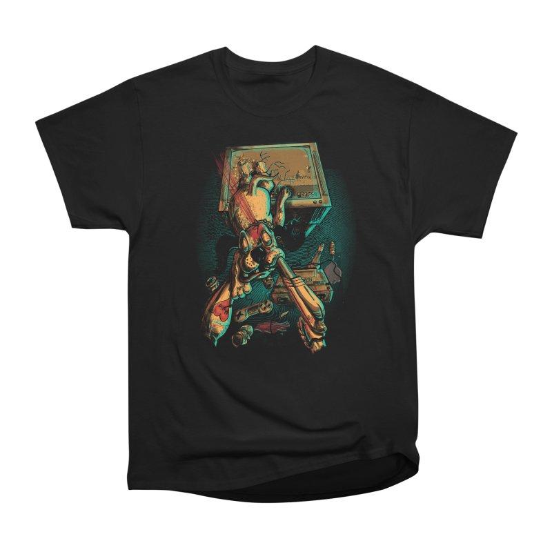Dog Hunt Men's T-Shirt by Wicked Oddities