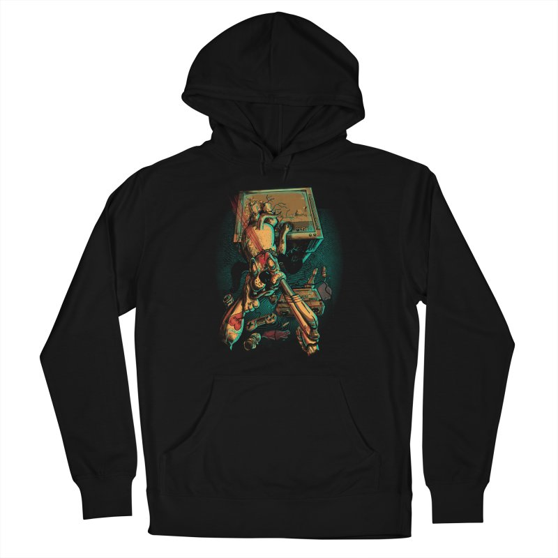 Dog Hunt Women's Pullover Hoody by Wicked Oddities