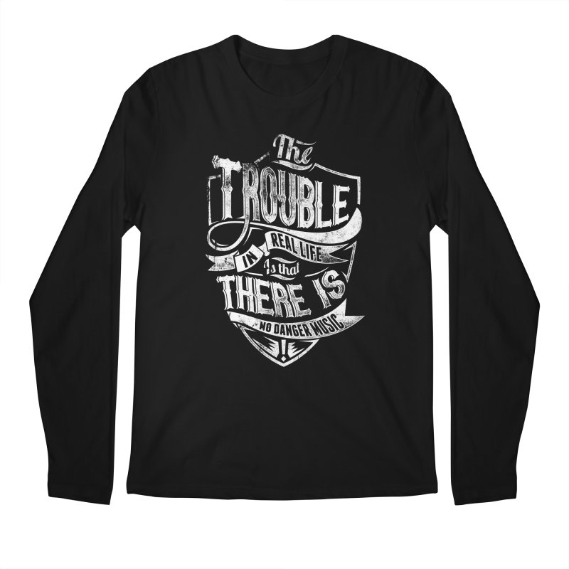 Danger Music Men's Longsleeve T-Shirt by Wicked Oddities