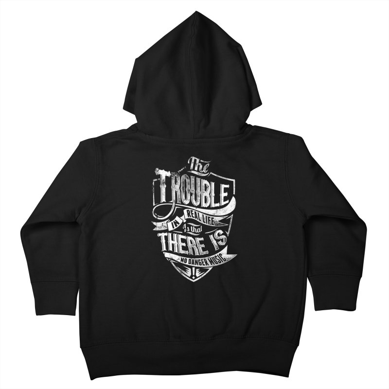 Danger Music Kids Toddler Zip-Up Hoody by Wicked Oddities