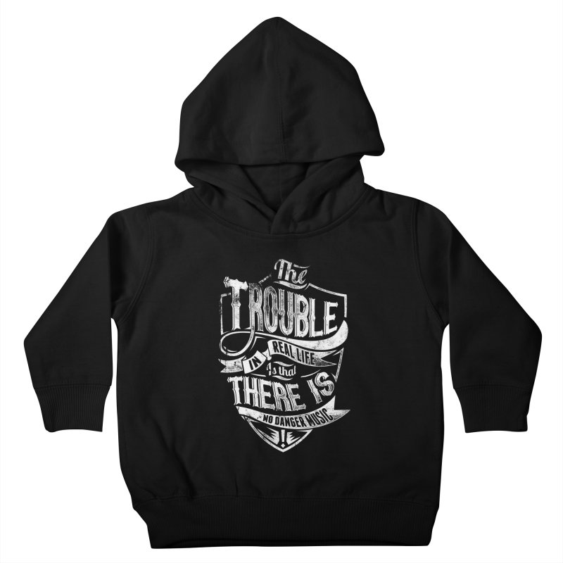 Danger Music Kids Toddler Pullover Hoody by Wicked Oddities