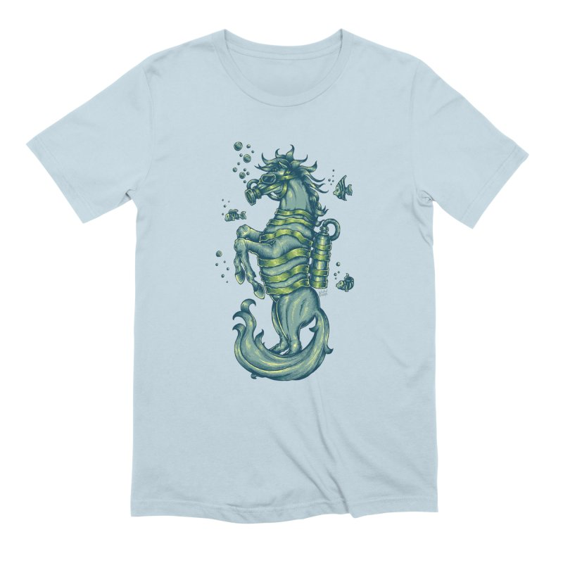 Horse Of The Sea Men's T-Shirt by Wicked Oddities