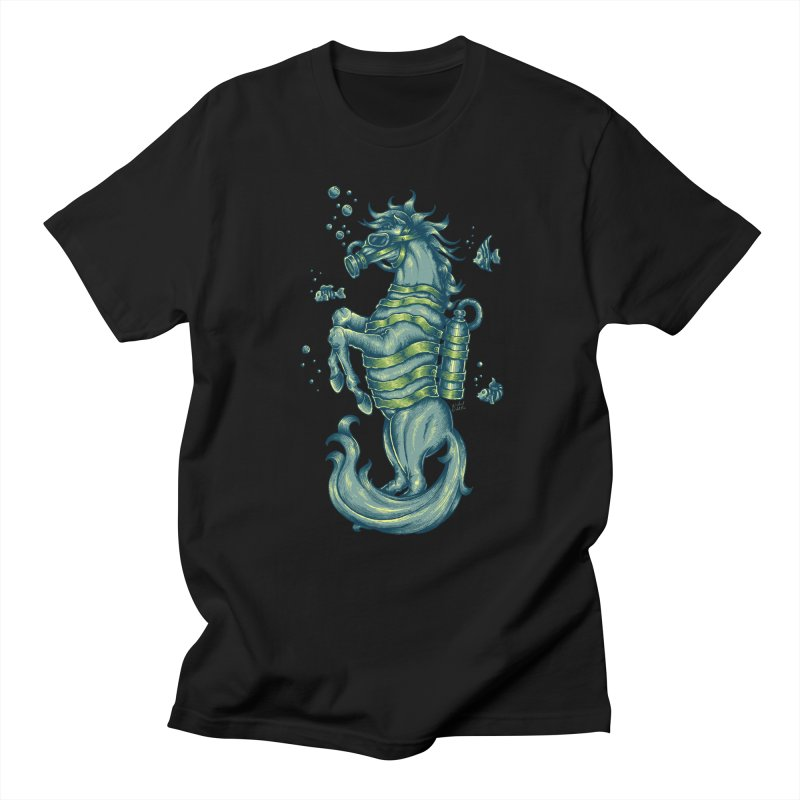 Horse Of The Sea Women's Regular Unisex T-Shirt by Wicked Oddities