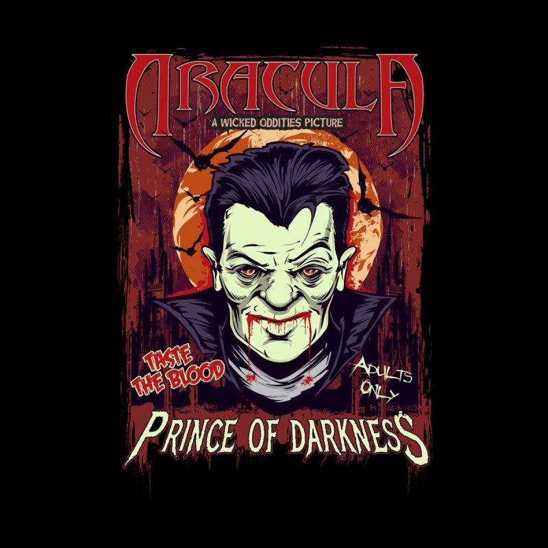 Prince Of Darkness Men's Sweatshirt by Wicked Oddities