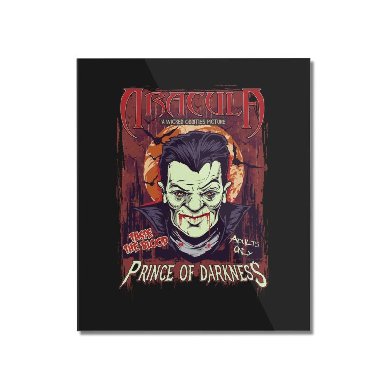 Prince Of Darkness Home Mounted Acrylic Print by Wicked Oddities
