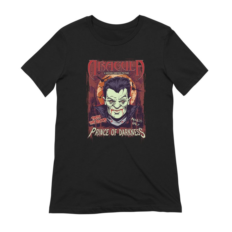 Prince Of Darkness Women's Extra Soft T-Shirt by Wicked Oddities