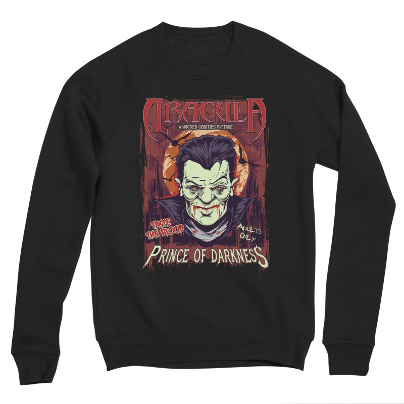 Prince Of Darkness Men's Sponge Fleece Sweatshirt by Wicked Oddities