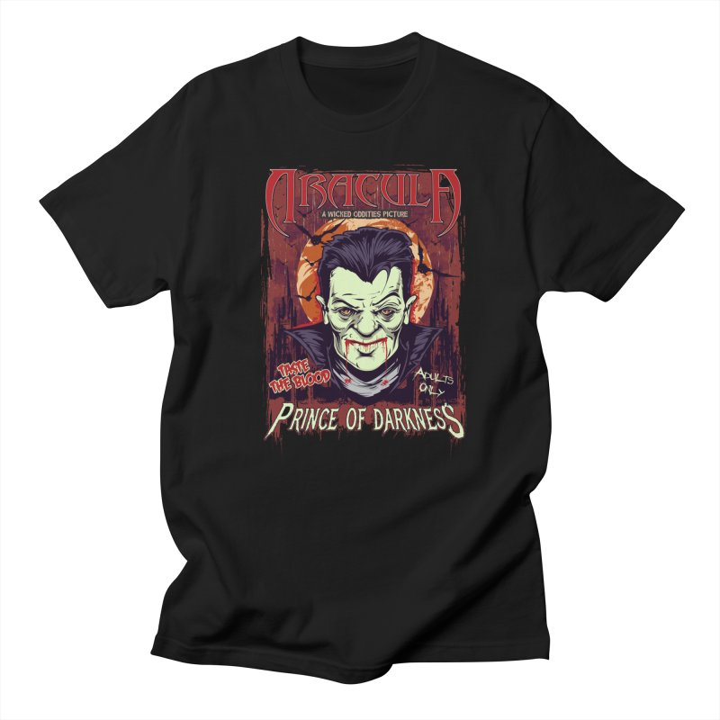 Prince Of Darkness Men's T-Shirt by Wicked Oddities