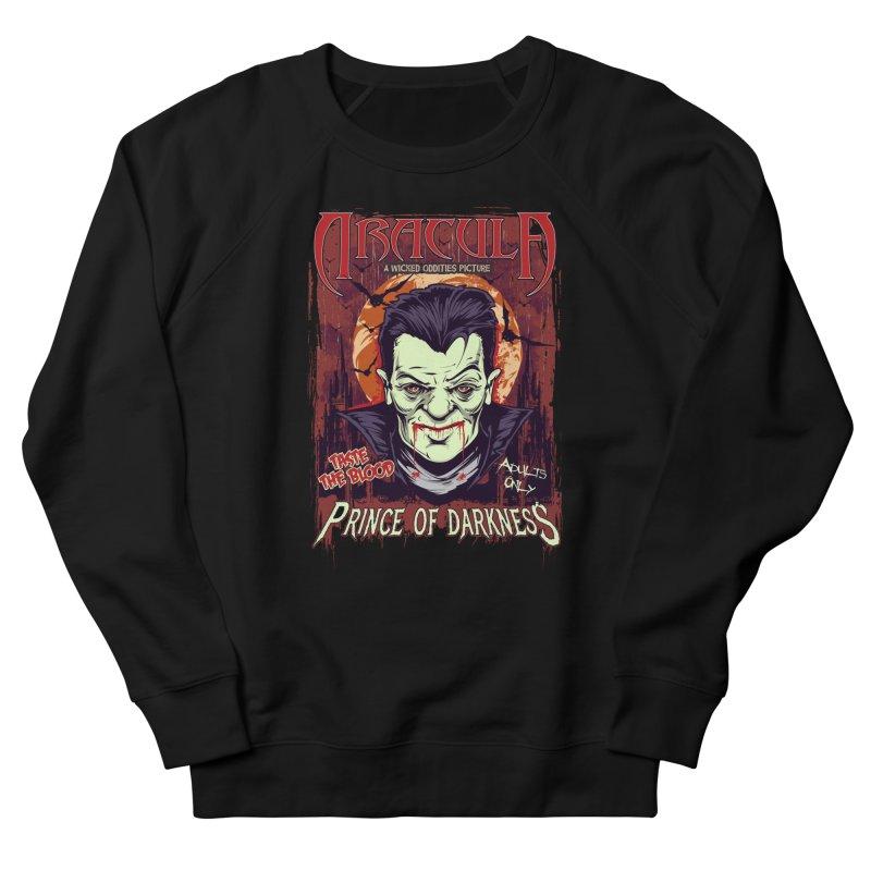 Prince Of Darkness Men's Sweatshirt by Wicked Oddities